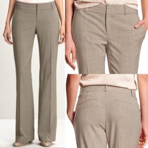 Banana Republic Martin fit 4 lined taupe trousers